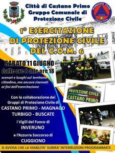 Castano Esercitazione Protezione Civile